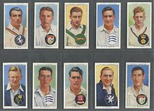 Cigarette & Trade Cards: John Player & Sons: 1938 Cricketers; part set of 36