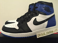 NIKE AIR JORDAN RETRO 1 HIGH OG FRAGMENT DESIGN 8.5 7.5 42 BANNED ROYAL BLU BRED