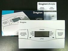 DRAYTON LIFESTYLE LP722 ELECTRONIC 7 DAY DUAL CHANNEL PROGRAMMER