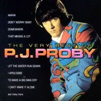 PJ PROBY - THE VERY BEST OF CD ~ GREATEST HITS 60's ~ P.J. *NEW*