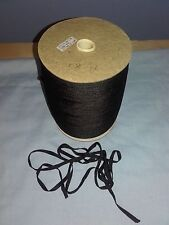 Job Lot 914 Mtr reels of Black  6mm polyester Stay Tape craft, sewing work home