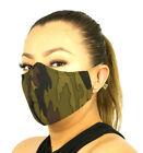 Unisex Protective Face Mask Washable and Reusable 3 Pack Camo