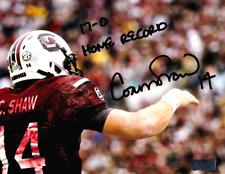 "Connor Shaw Signed South Carolina Gamecocks 8x10 Photo - ""17-0 Home Record"""