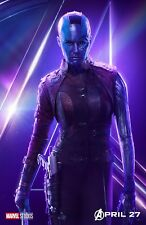 The Avengers Infinity War movie poster (h) : 11 x 17 inches - Nebula