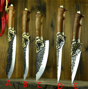 NINJA CHEF - Hammer Forged Knives Pro Collection - Japan High Carbon Steel