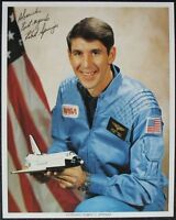 s1462) Astronaut Robert C. Springer - NASA Photo JSCL 245 Autograph Autogramm OU