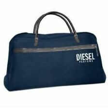 NEW DIESEL NAVY BLUE DUFFLE WEEKEND TRAVEL OVERNIGHT HOLDALL SPORT GYM BAG