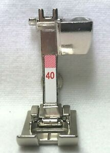 BERNINA SIDEWAYS MOTION FOOT WITH SENSOR - NO 40C - FOR 9MM SEWING MACHINES