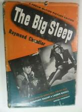 The Big Sleep Raymond Chandler Movie Ed 1946 Dj Humphery Bogart Lauren Bacall