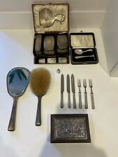 Joblot/Collection of Antique/Vintage Silver Items- Liberty & Co, Not Scrap