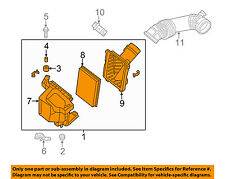 Infiniti NISSAN OEM M56 Air Cleaner Intake-Filter Box Housing Left 165001MC0F