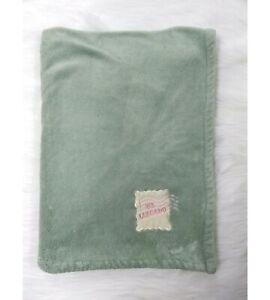 Tadpoles Baby Blanket Light Green HE LLEGADO To Arrive Soft Fleece Girl B71