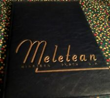 1946 MELETEAN, YEARBOOK OF THE STATE TEACHERS COLLEGE AT RIVER FALLS, WIS. VG.