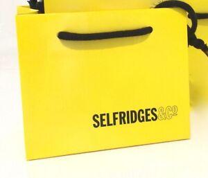BRAND NEW Selfridges Empty Mini Gift Bag  *15cms x 12cms x 8cms*