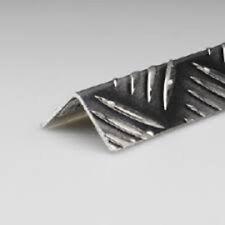 profilo angolare paraspigolo in alluminio mandorlato dim 60x60mmx1000h