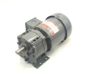 Dayton  6K334A  Split Phase AC Gearmotor 115 VAC 1/6 HP