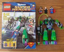 LEGO 6862 DC COMICS SUPERHEROES SUPERMAN VS POWER ARMOUR LEX MINT CONDITION