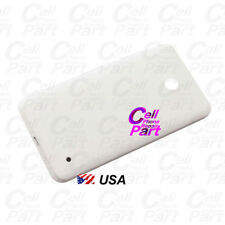 Usa For Nokia Lumia 630 635 N630 N635 Housing Battery Back Cover Button White