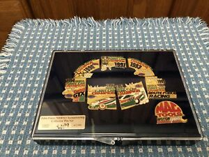 NHRA Championship Collectors Pin Set. John Force Limited Edition of 2500