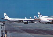 Aero Peru , DC-8-61 ,Ansichtskarte, ungel.