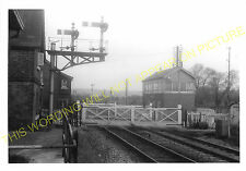 Moreton on Lugg Railway Station Photo. Hereford - Dinmore. Leominster Line. (4)