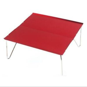 Outdoor Camping Mountaineering Hiking Portable Aluminum Alloy Folding Table