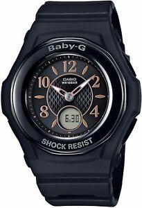 Baby-G Bebiji Casio Watch Baby Gee Radio Wave Solar BGA-1050B-1BJF Black