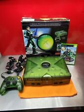 Original Microsoft Xbox Console - Halo Special Edition with Original Box