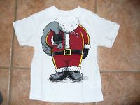 NEW The Children's Place Boys Size 18-24 months Santa Short Sleeve Shirt