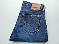 """LEVIS 508 Jeans Loose Fit Blue Denim Button Fly SIZE W33 L32 Waist 33"""" Leg 32"""""""