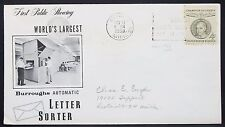 CHAMPION of liberty us COVER FDC Detroit Reuter 4c usa solo tag lettera (h-11029