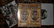 """GG ALLIN & CRIMINAL QUARTET/duane peters Split 7"""" *400 COPIES ON BLACK WAX* g.g."""
