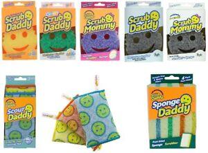 The Original Scrub Daddy, Scrub Mommy, Sponge Daddy Or Scour Daddy Scratch Free