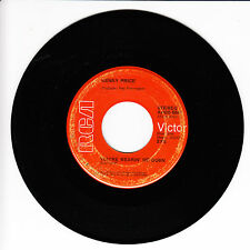 KENNY PRICE You're Wearin' Me Down VG+ 45 RPM