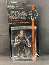 Star Wars The Black Series #3 Anakin Skywalker Orange Line  3.75 Inch