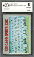 Chicago White Sox Team Card 1970 Topps #501 BGS BCCG 8