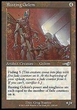 Rusting Golem X4 MP Nemesis MTG Magic Cards Artifact Uncommon
