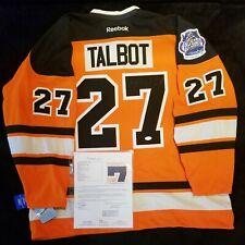 NHL Max Talbot REEBOK PHILADELPHIA FLYERS Winter Classic Jersey Signed NWT