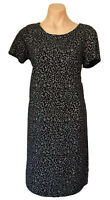 TARGET COLLECTION SIZE M BLACK & WHITE DRESS  AS NEW