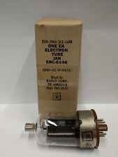 6146 Tube - RCA brand packaged for Military use - Tested Good on TV7 tester