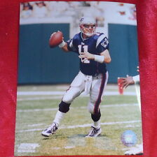 New England Patriots Drew Bledsoe 8x10 Photo NFL P1