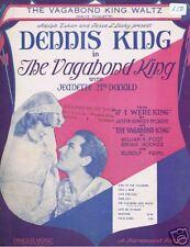 Vagabond King - Dennis King, Jeanette MacDonald - 1930