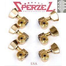 Sperzel Trim-Lok Back Locking Tuners/machine heads, 3x3 Gold, Trimlock