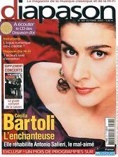 Diapason #507 -Cecilia BARTOLI- Orgue numérique, 7 lecteurs laser d'exception,…