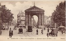 CPA -33-  BORDEAUX - Place et Porte d'Aquitaine.