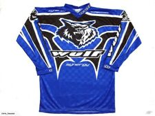 Wulfsport Synergy Off Road / Motocross Jersey Youth Kids Blue, 8-10yrs