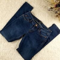 Underground Soul women's blue super skinny jeans juniors size 7 stretchy (R)