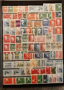 SWEDEN (3447) Nice Smal Collection  (MNH)