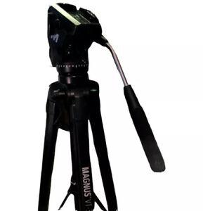 Magnus VT-350 Portable Video Camcorder Tripod With Fluid Head