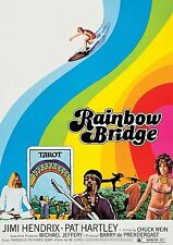 Jimi Hendrix 1972 Rainbow Bridge A3 art print poster YF5280